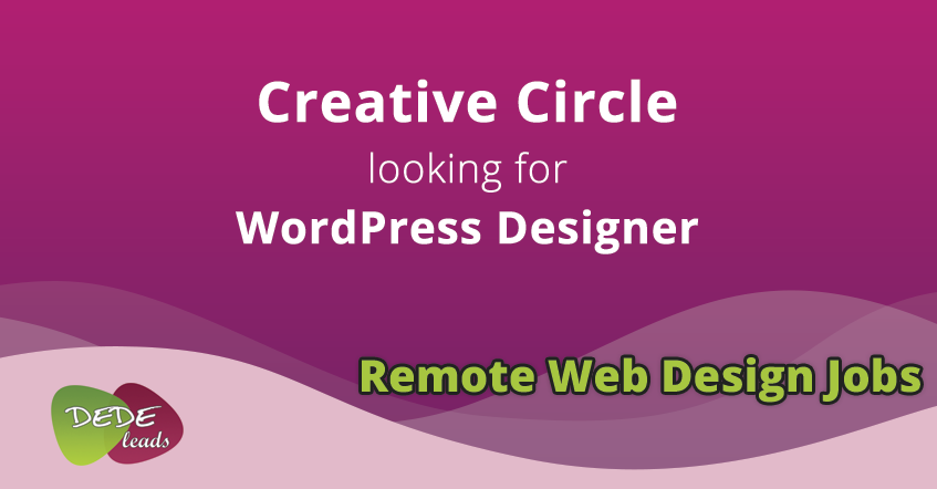 Creative Circle looking for WordPress Designer